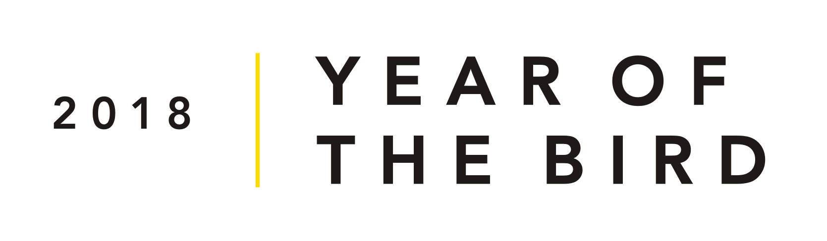 2018 Year of the Bird logo