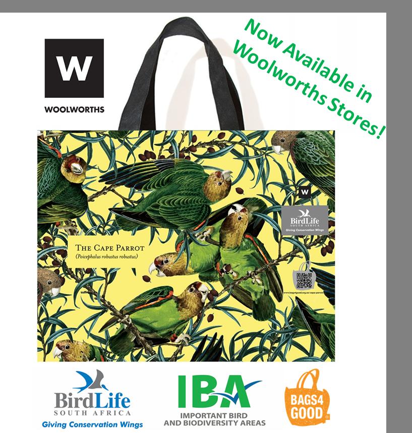 Cape Parrot Bags