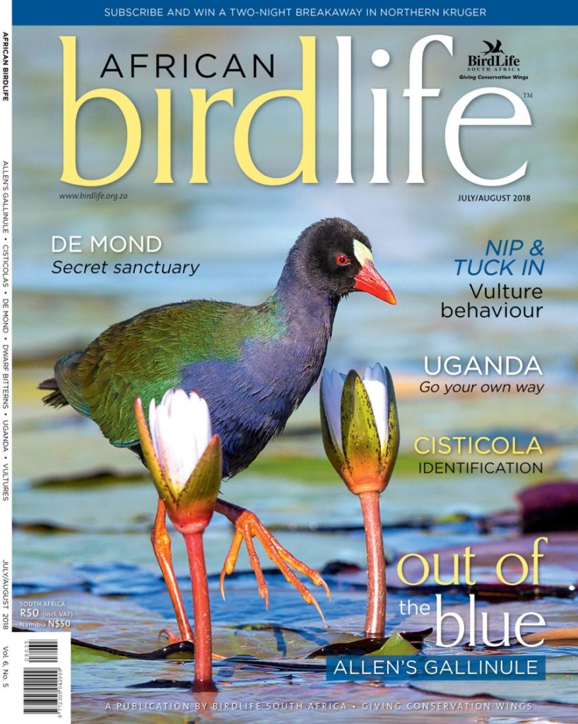 African Birdlife Jul / Aug 2018