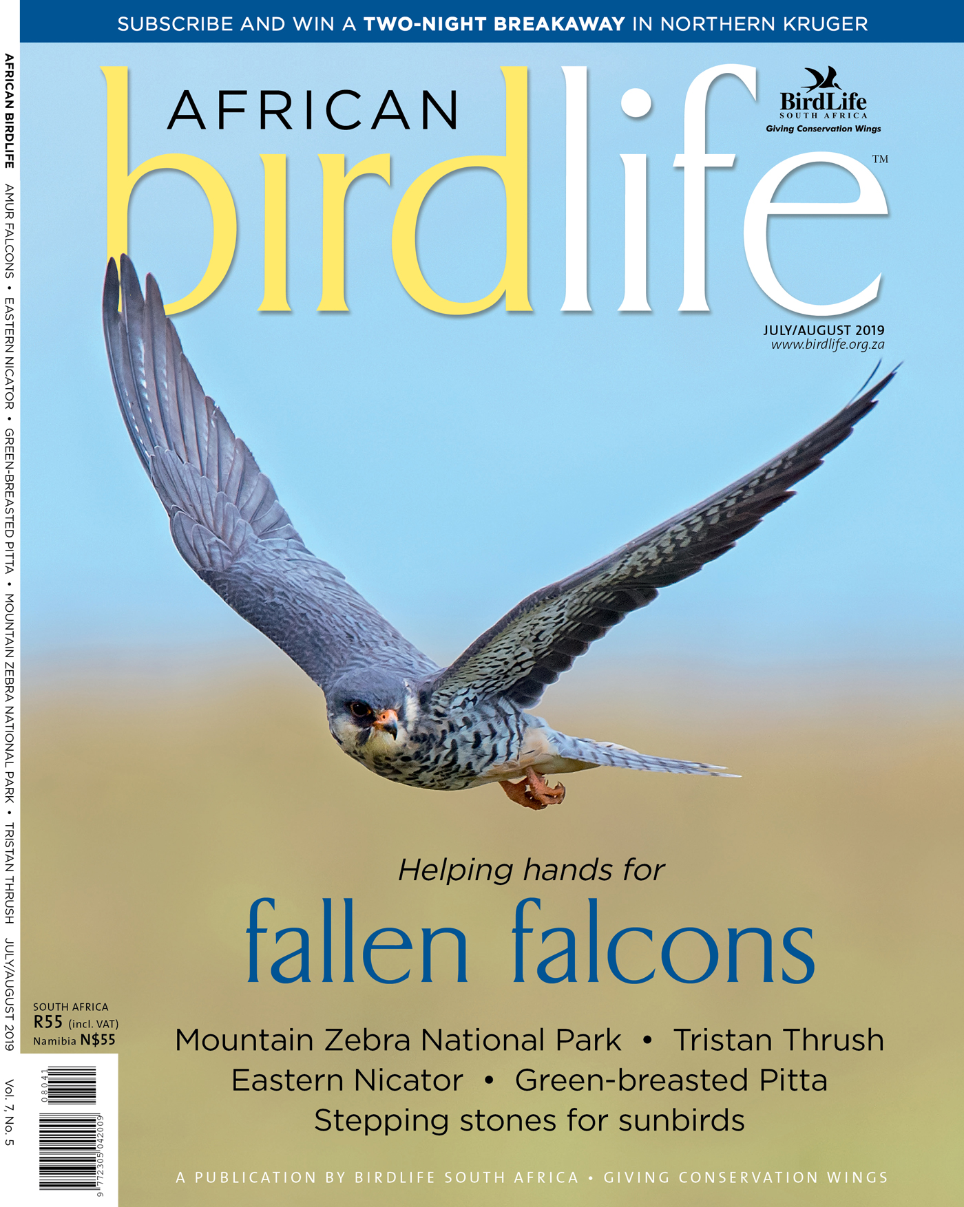 African Birdlife Jul / Aug 2019