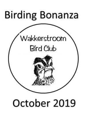 WBC Birding Bonanza Oct 2019