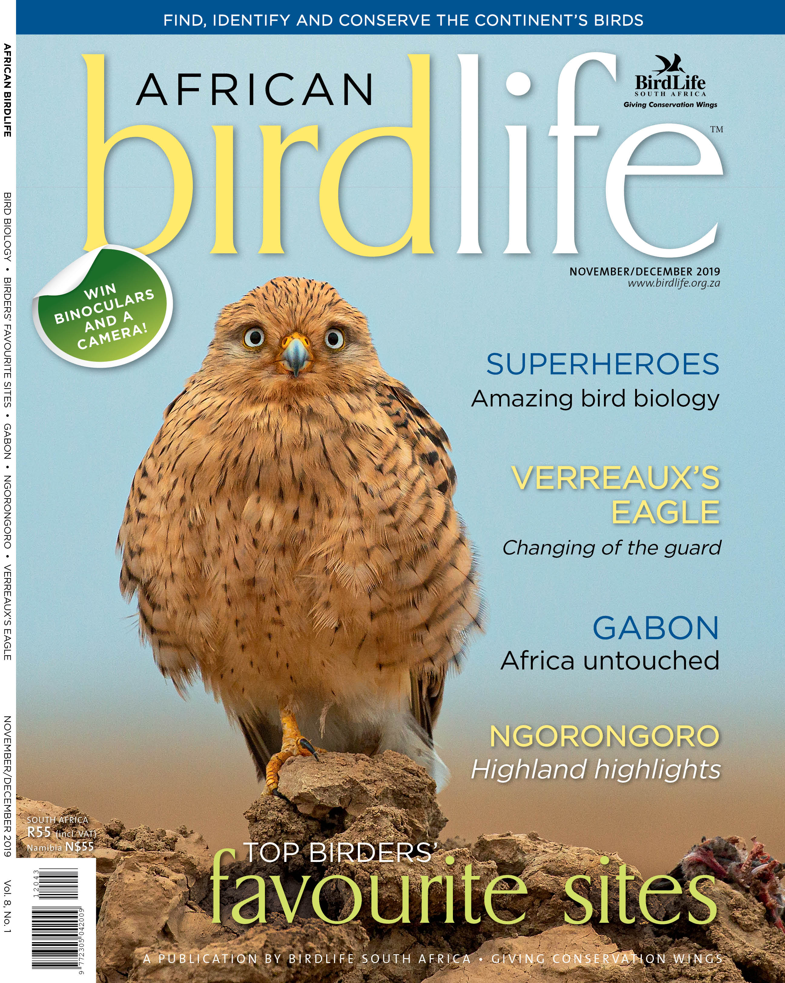 African Birdlife Nov / Dec 2019